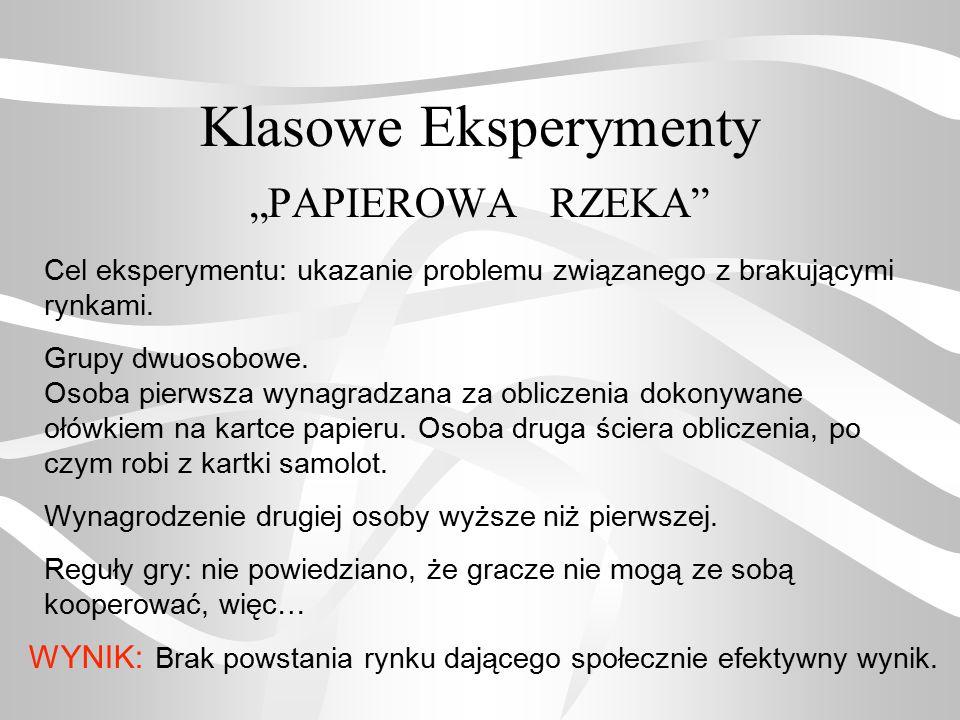 """Klasowe Eksperymenty """"PAPIEROWA RZEKA"""