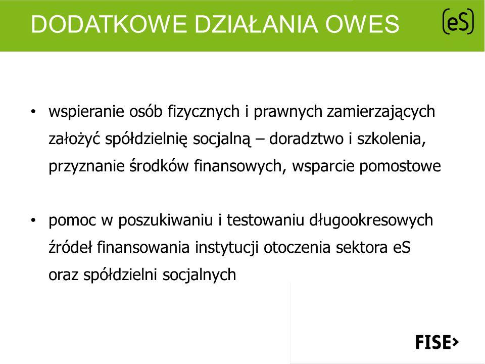 Dodatkowe działania OWES