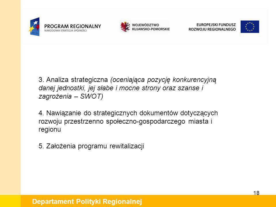 5. Założenia programu rewitalizacji