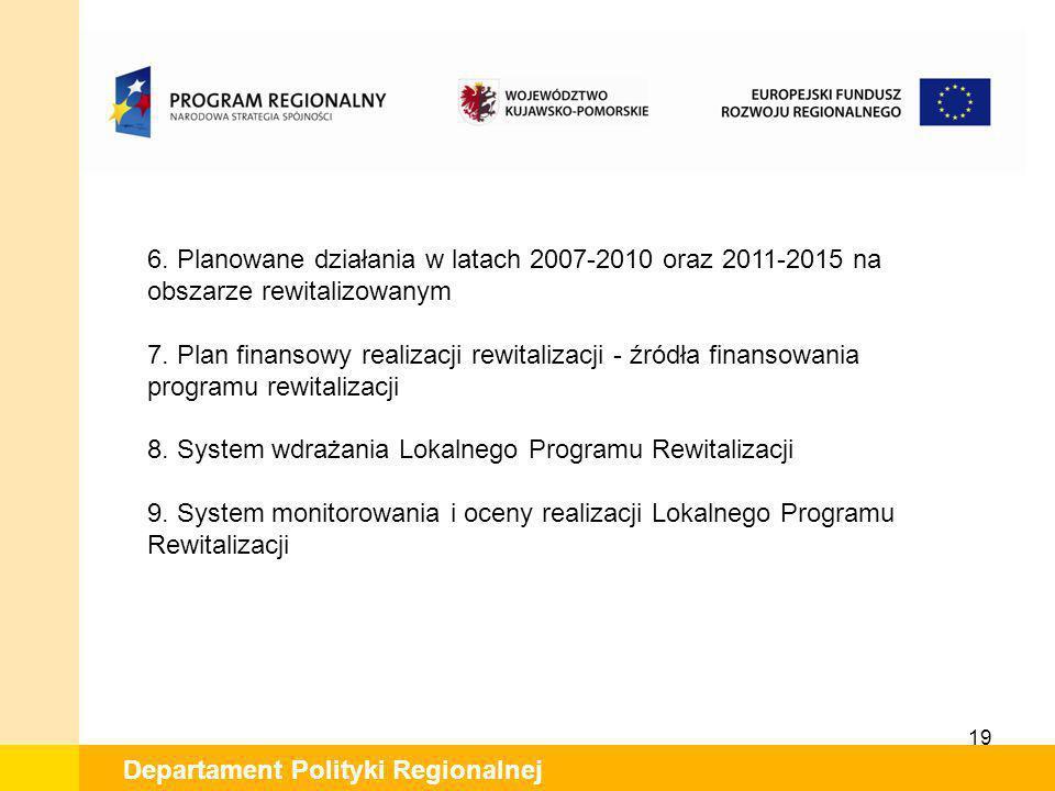 8. System wdrażania Lokalnego Programu Rewitalizacji