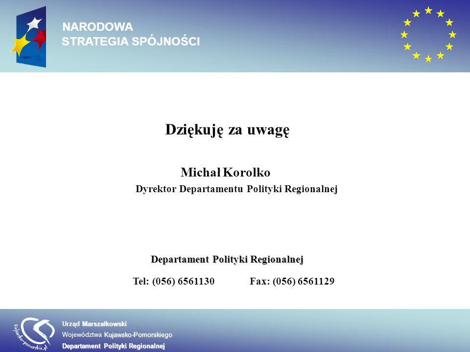 Dyrektor Departamentu Polityki Regionalnej