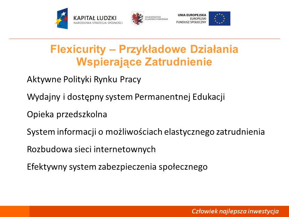 Flexicurity – Przykładowe Działania Wspierające Zatrudnienie