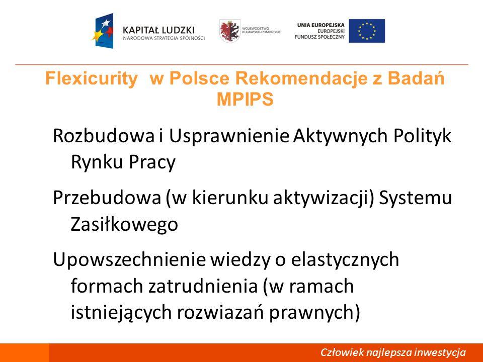 Flexicurity w Polsce Rekomendacje z Badań MPIPS