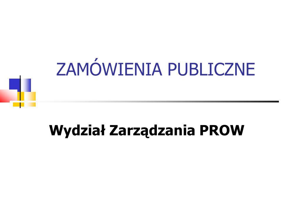 Wydział Zarządzania PROW
