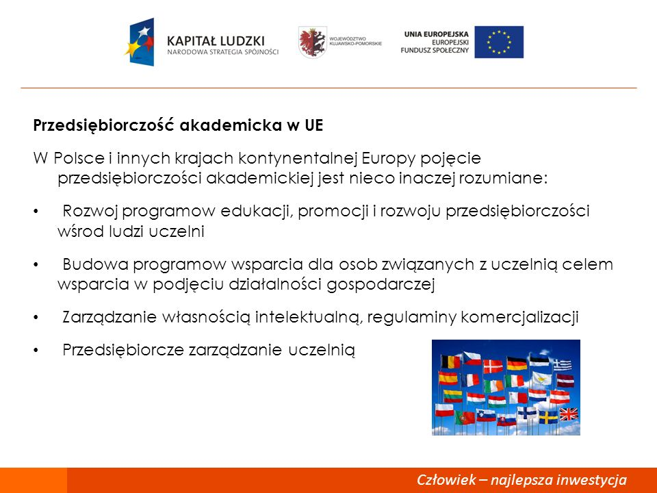 77 Przedsiębiorczość akademicka w UE.