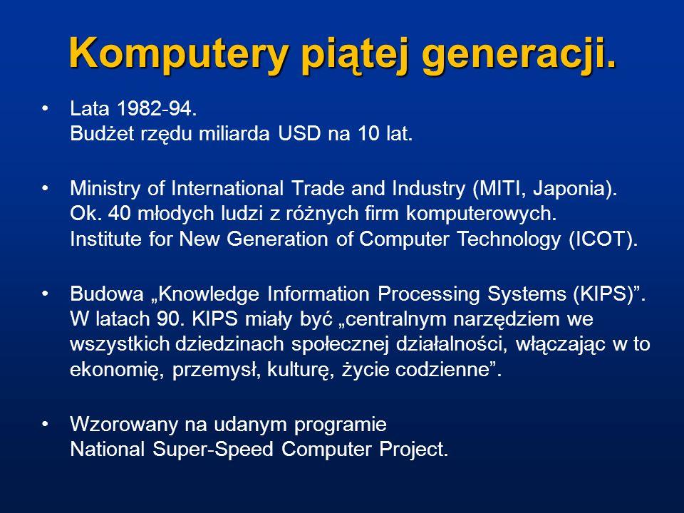 Komputery piątej generacji.