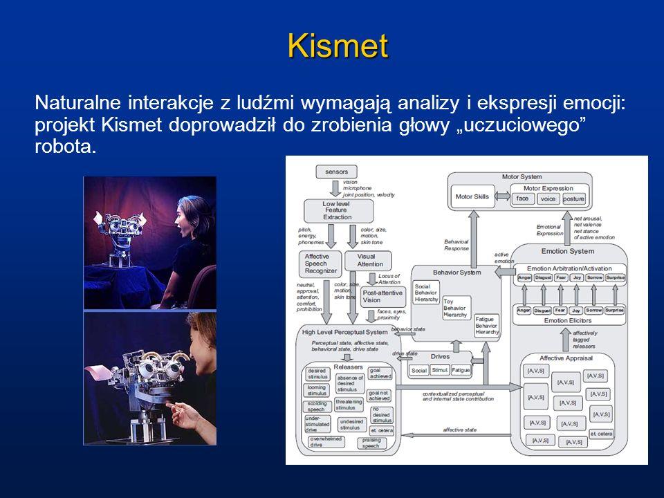 """Kismet Naturalne interakcje z ludźmi wymagają analizy i ekspresji emocji: projekt Kismet doprowadził do zrobienia głowy """"uczuciowego robota."""