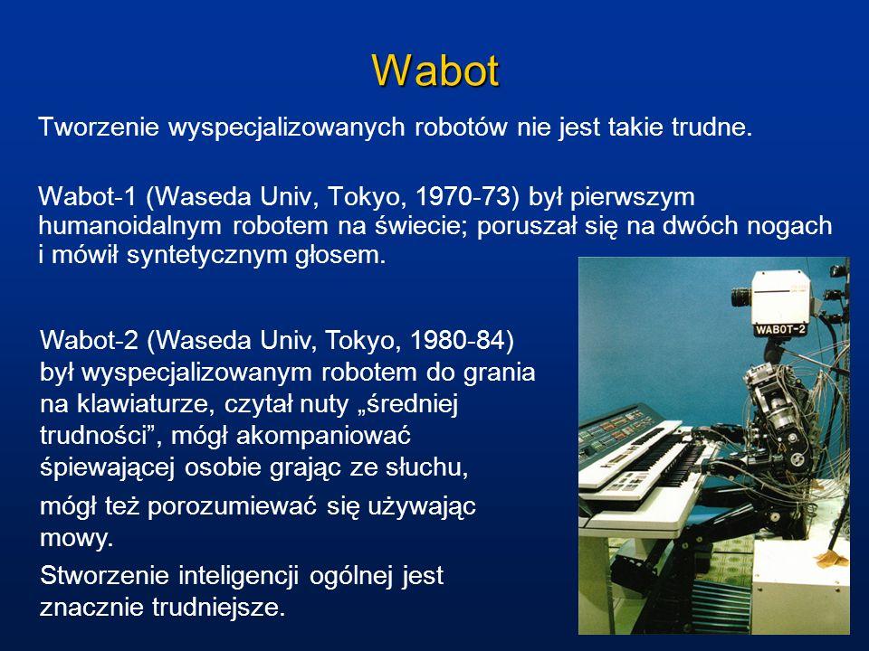 Wabot Tworzenie wyspecjalizowanych robotów nie jest takie trudne.