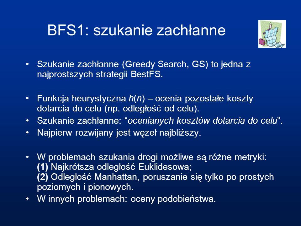 BFS1: szukanie zachłanne