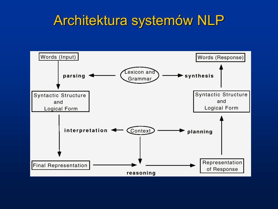 Architektura systemów NLP