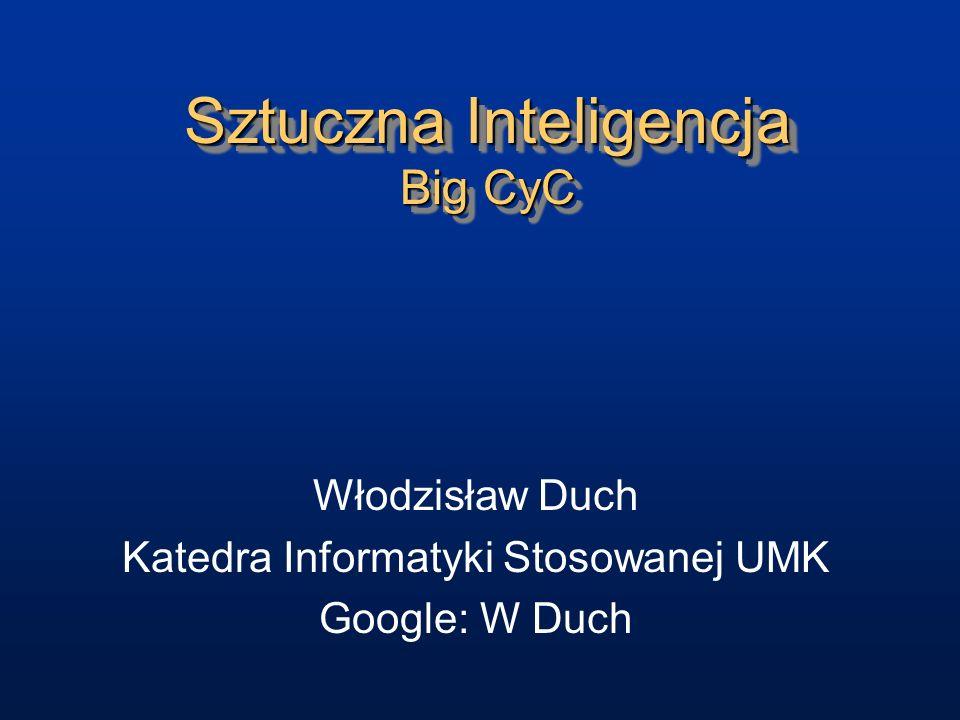 Sztuczna Inteligencja Big CyC