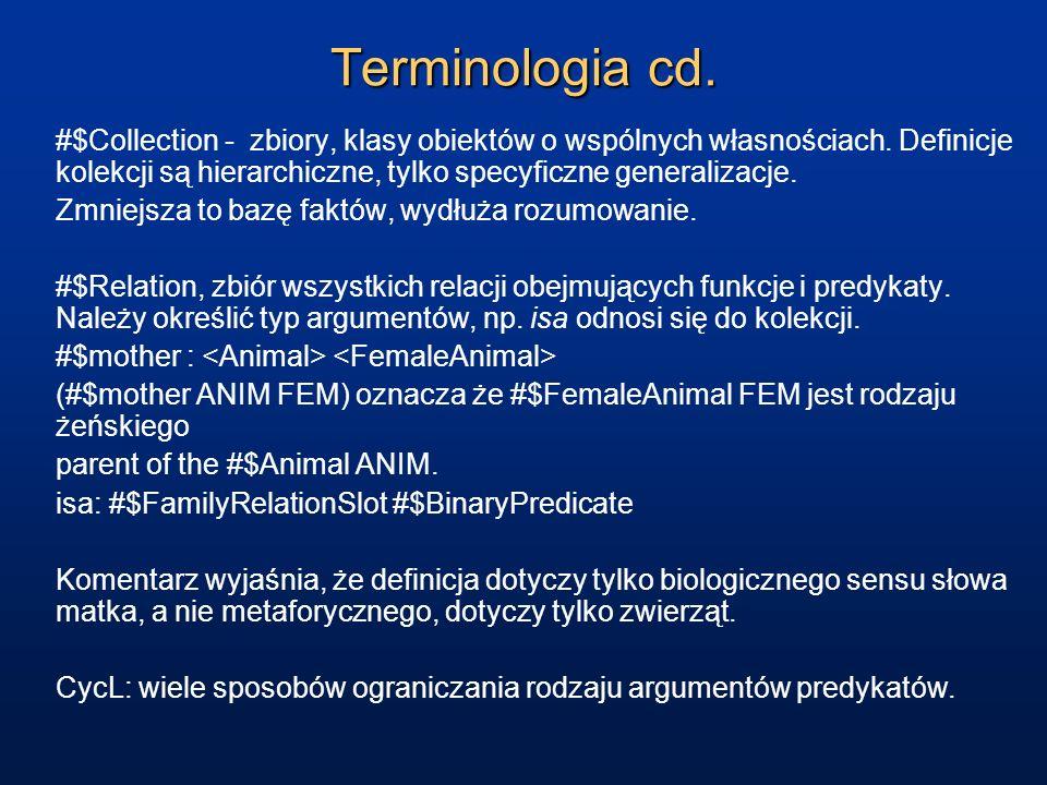 Terminologia cd.
