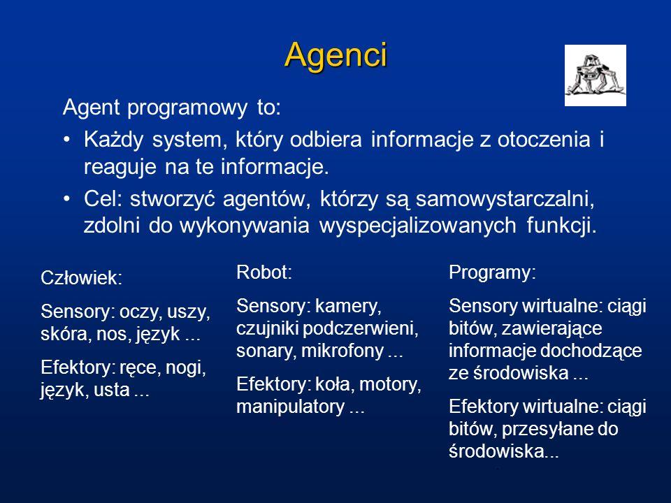 Agenci Agent programowy to: