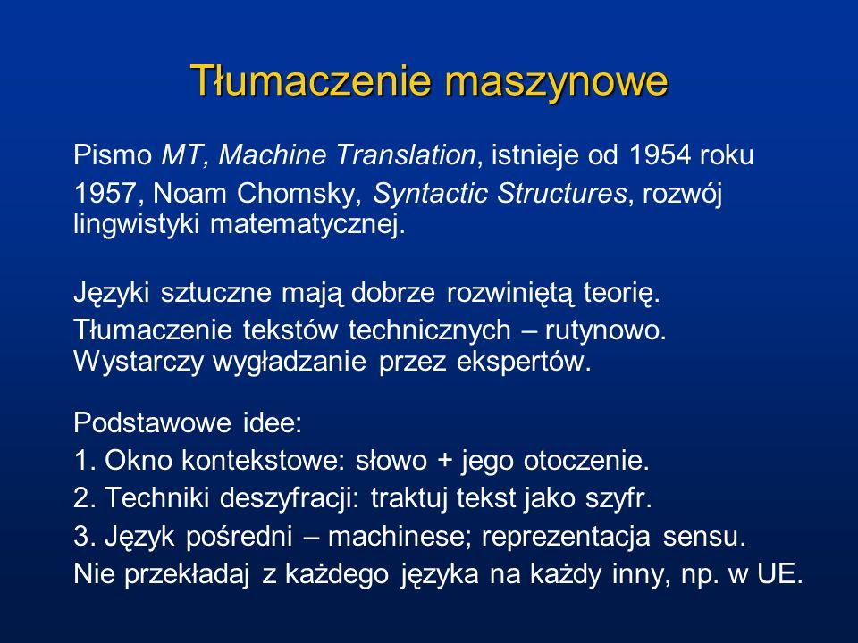 Tłumaczenie maszynowe
