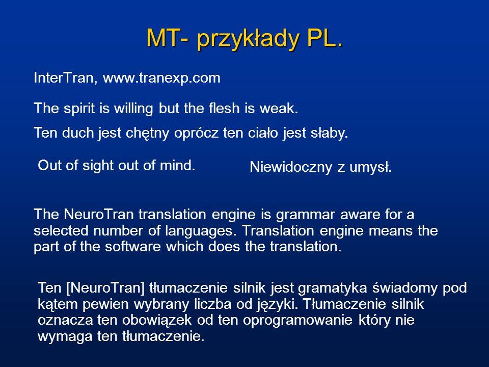 MT- przykłady PL. InterTran, www.tranexp.com