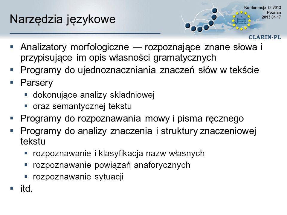 Konferencja i3'2013 Poznań 2013-04-17