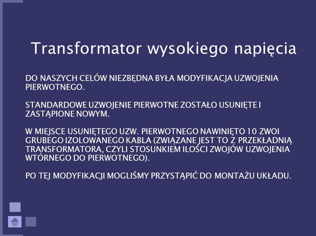 Transformator wysokiego napięcia
