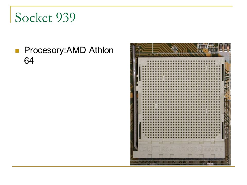 Socket 939 Procesory:AMD Athlon 64