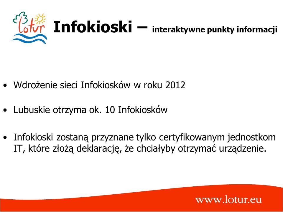 Infokioski – interaktywne punkty informacji