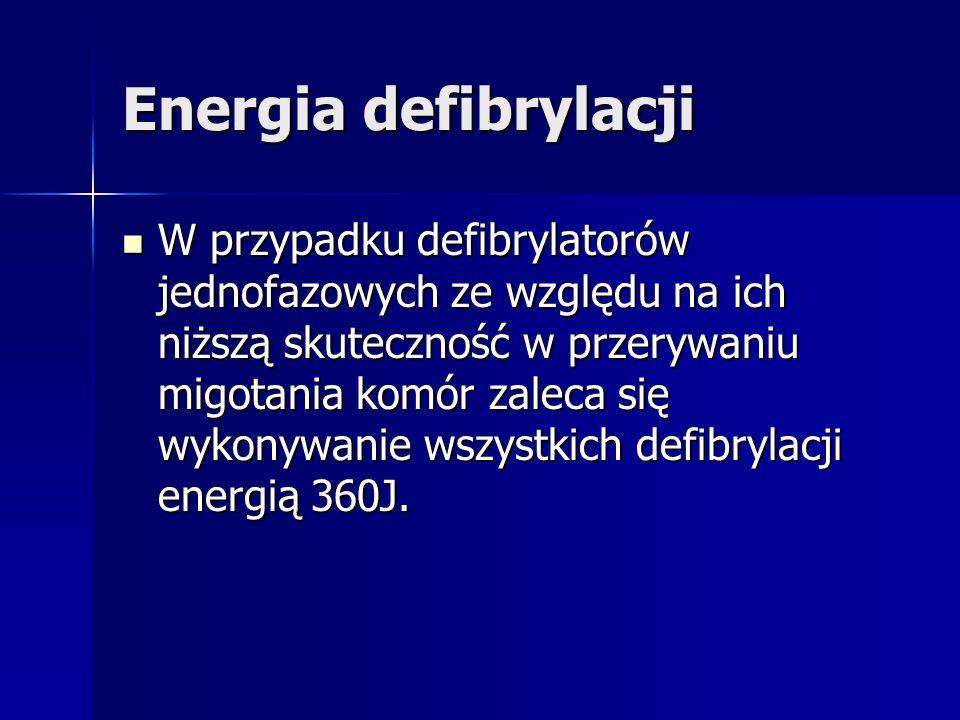 Energia defibrylacji