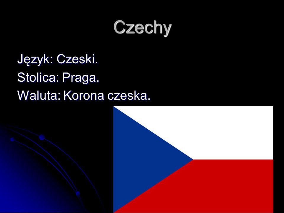 Czechy Język: Czeski. Stolica: Praga. Waluta: Korona czeska.