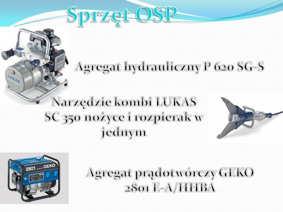 Sprzęt OSP Agregat hydrauliczny P 620 SG-S