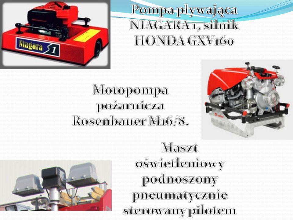 Pompa pływająca NIAGARA 1, silnik HONDA GXV160
