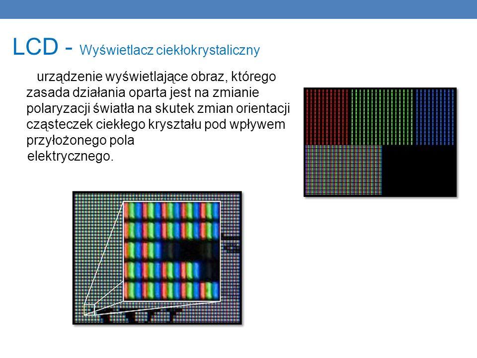 LCD - Wyświetlacz ciekłokrystaliczny