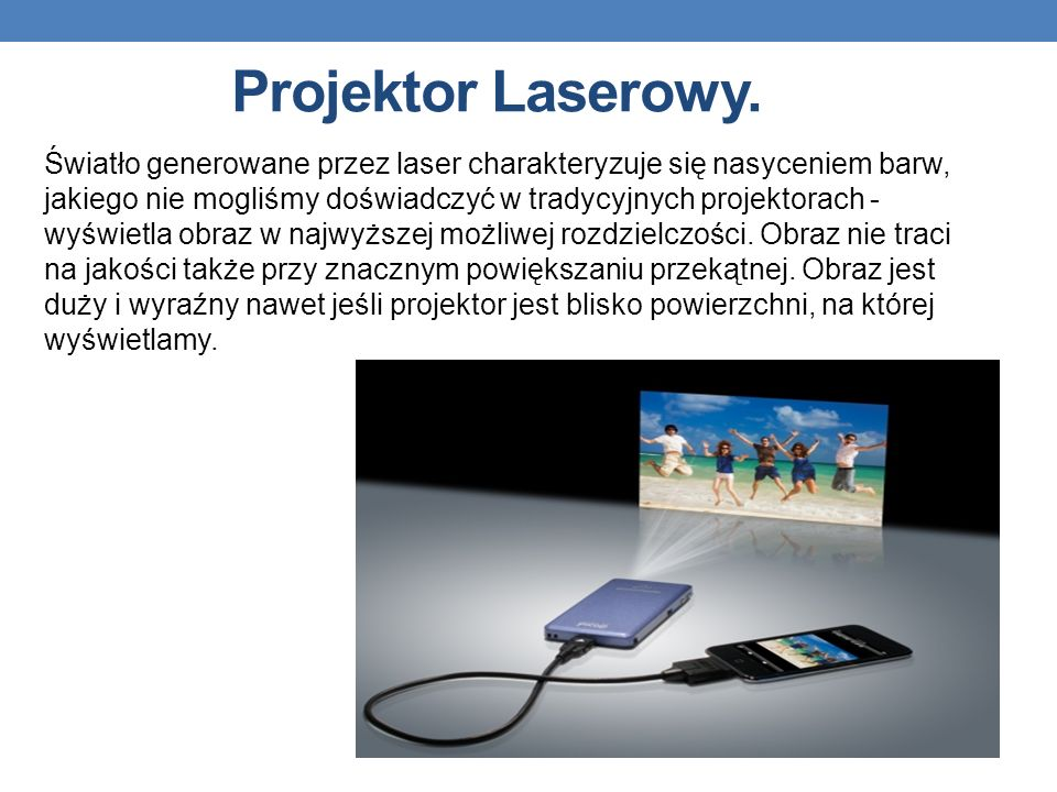Projektor Laserowy.