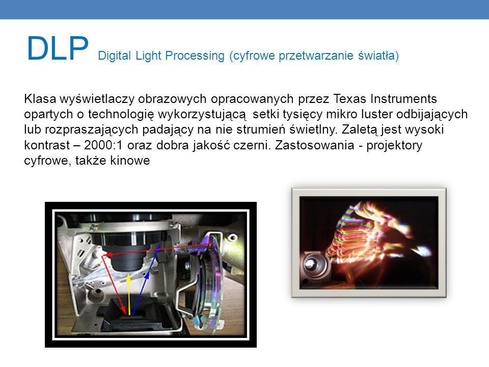 DLP Digital Light Processing (cyfrowe przetwarzanie światła)
