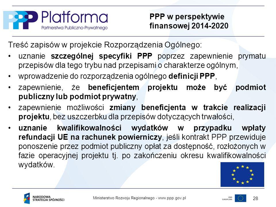 PPP w perspektywie finansowej 2014-2020