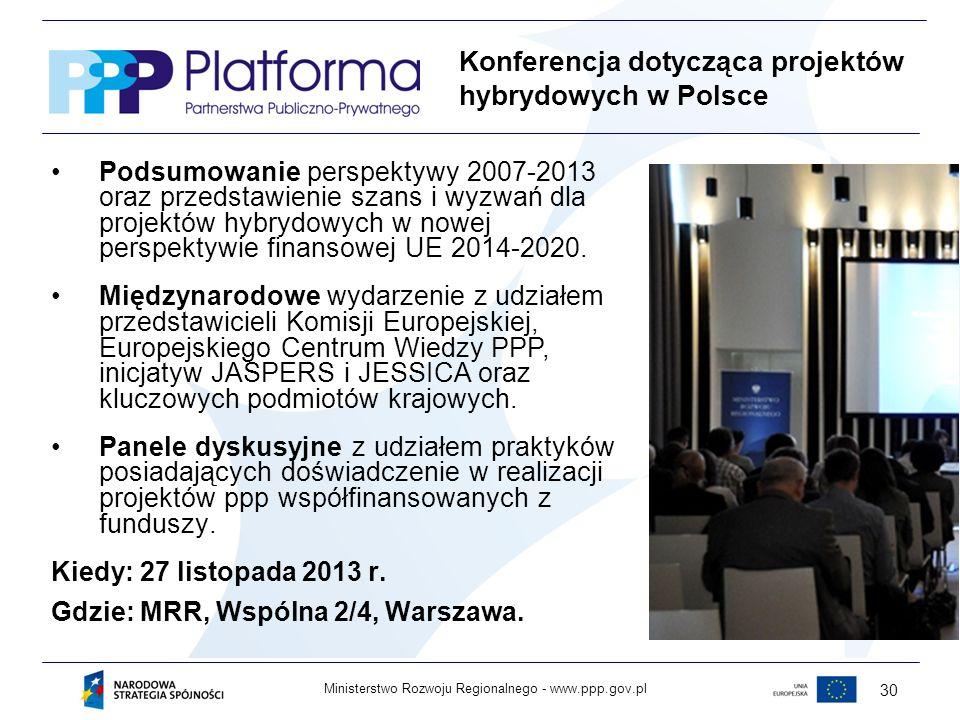 Konferencja dotycząca projektów hybrydowych w Polsce