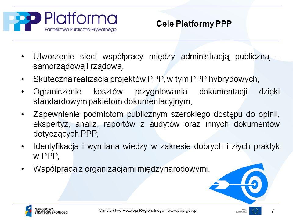 Skuteczna realizacja projektów PPP, w tym PPP hybrydowych,