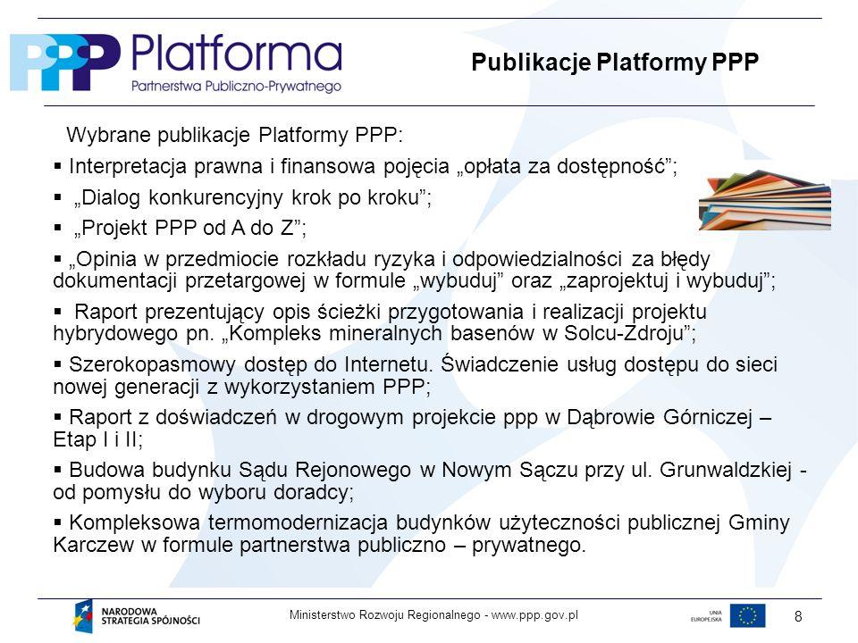 Publikacje Platformy PPP
