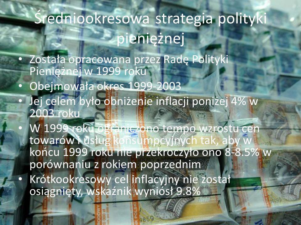 Średniookresowa strategia polityki pieniężnej