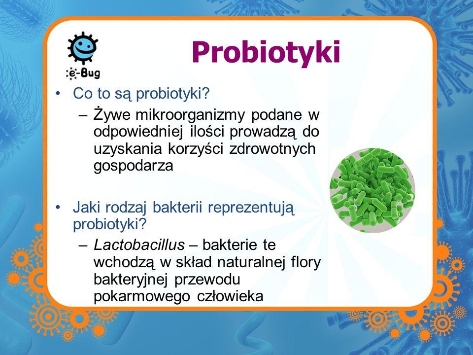 Probiotyki Co to są probiotyki