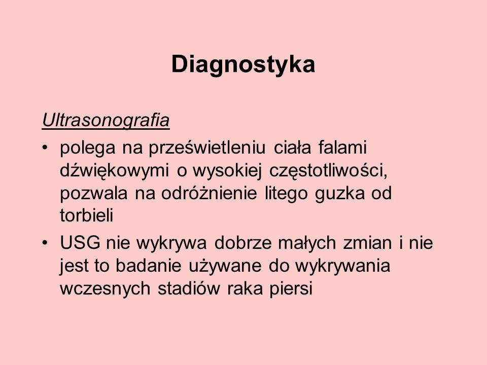 Diagnostyka Ultrasonografia