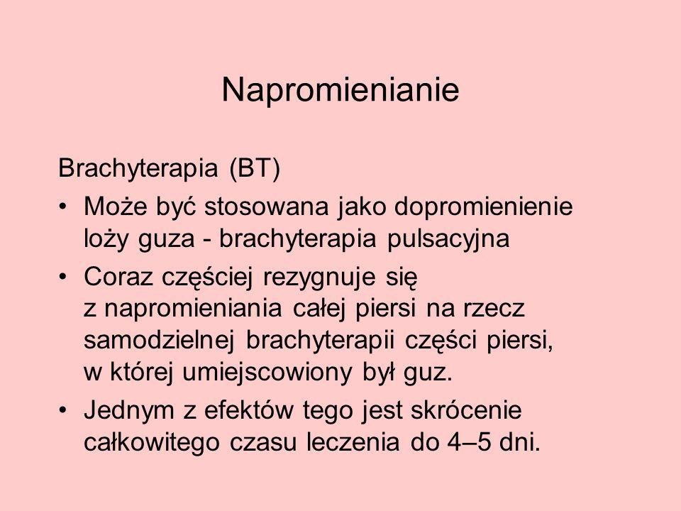 Napromienianie Brachyterapia (BT)
