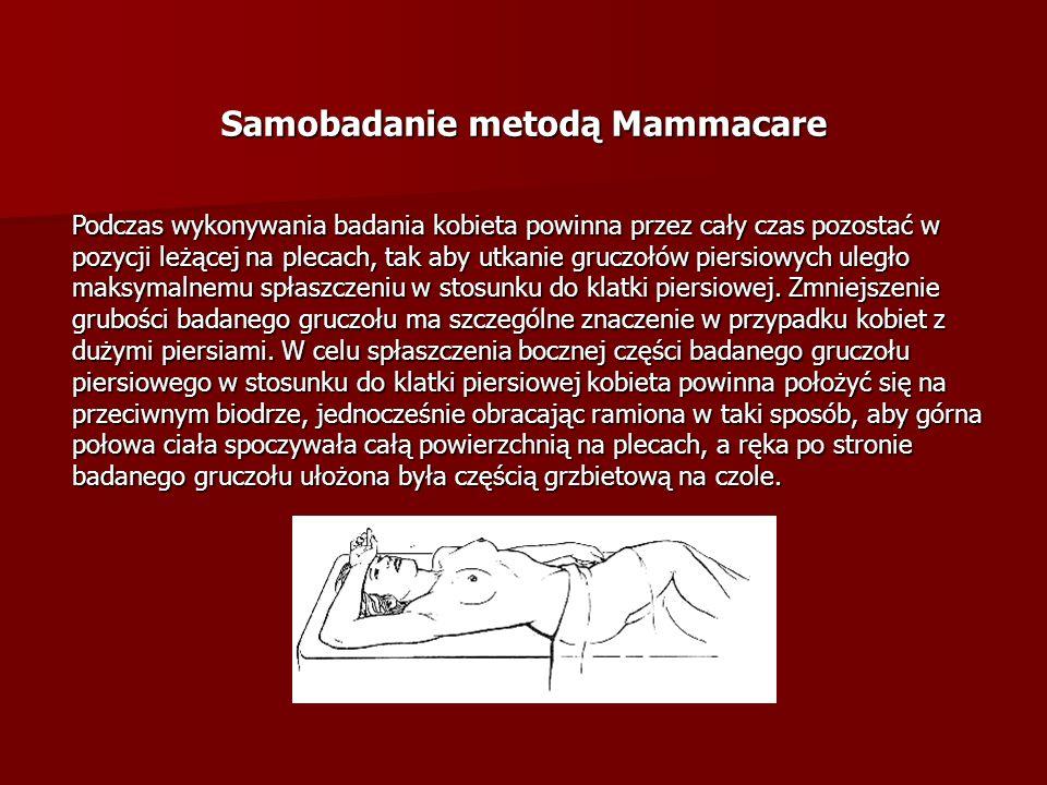 Samobadanie metodą Mammacare