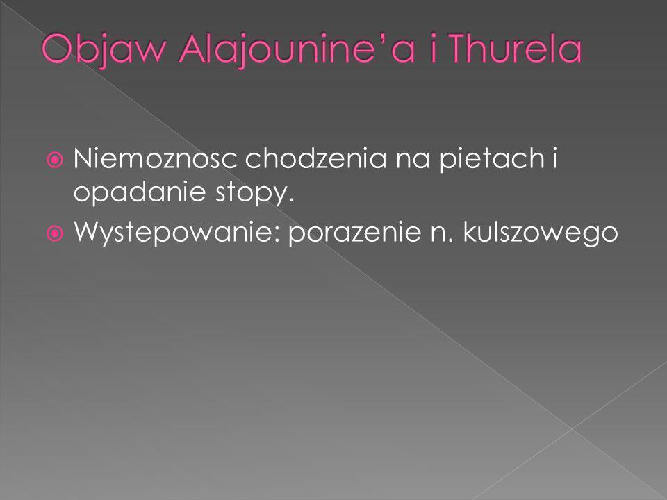 Objaw Alajounine'a i Thurela