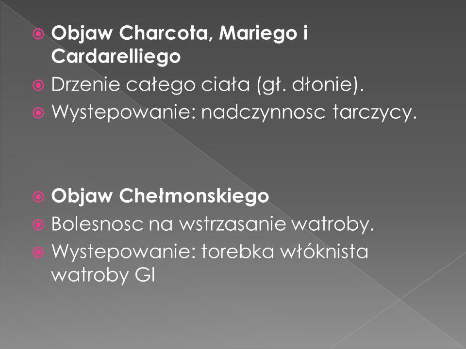 Objaw Charcota, Mariego i Cardarelliego