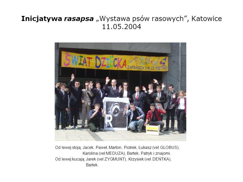 """Inicjatywa rasapsa """"Wystawa psów rasowych , Katowice 11.05.2004"""