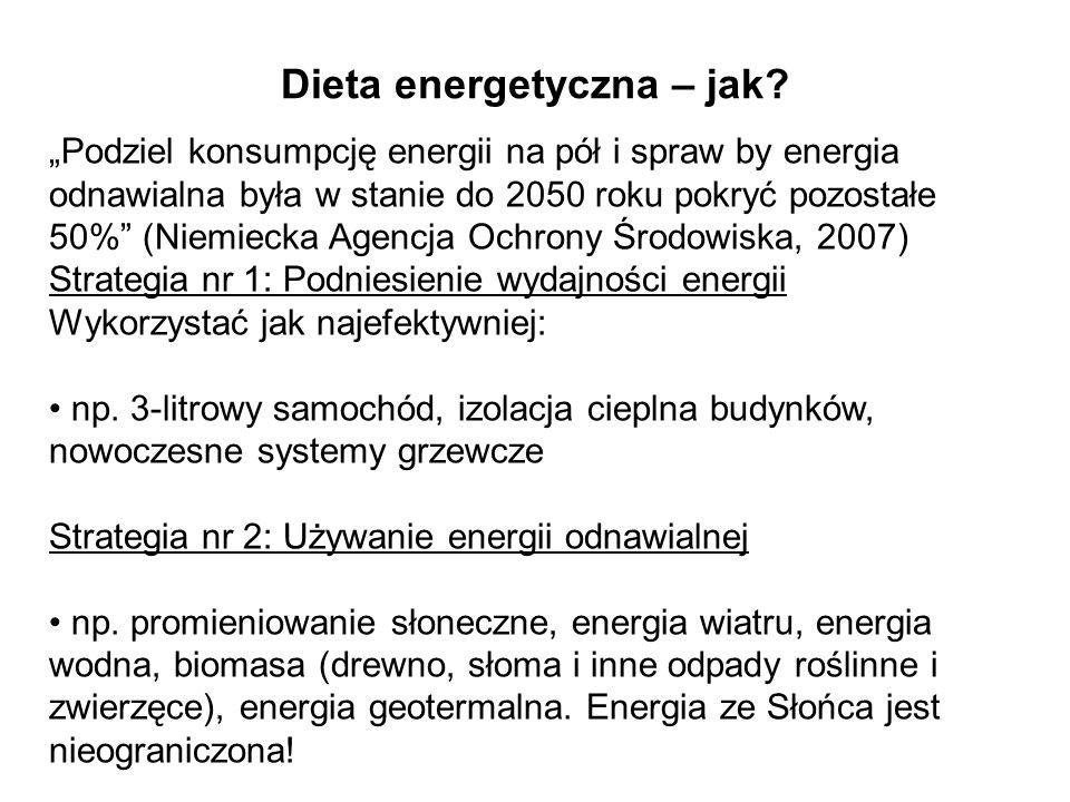 Dieta energetyczna – jak