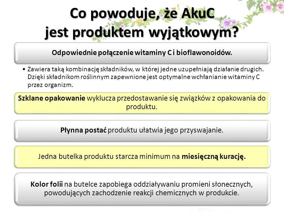 Co powoduje, że AkuC jest produktem wyjątkowym