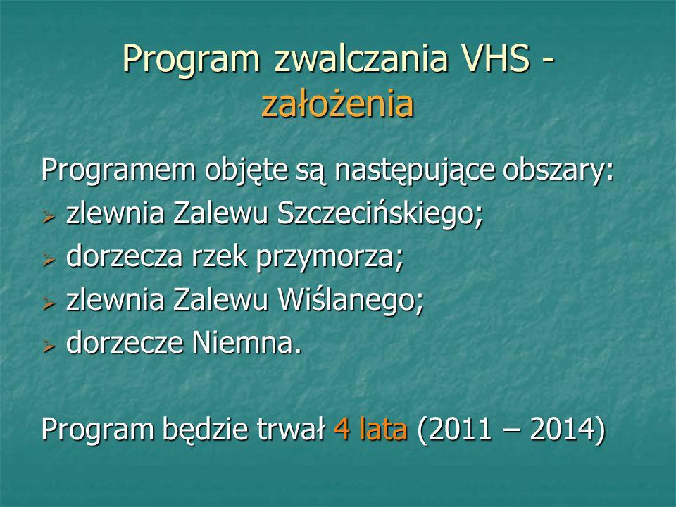 Program zwalczania VHS - założenia