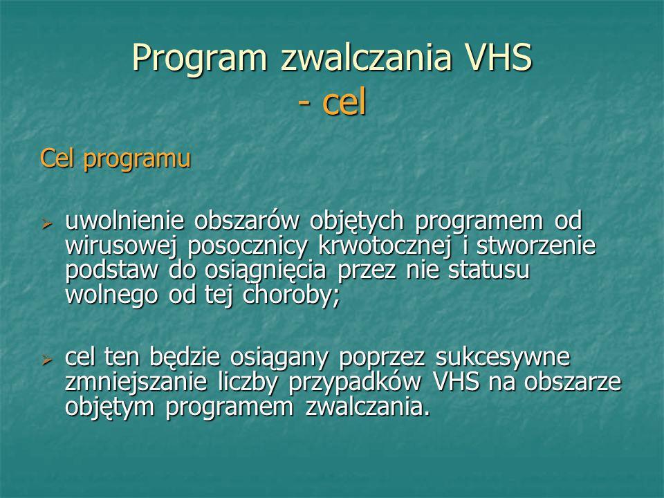 Program zwalczania VHS - cel