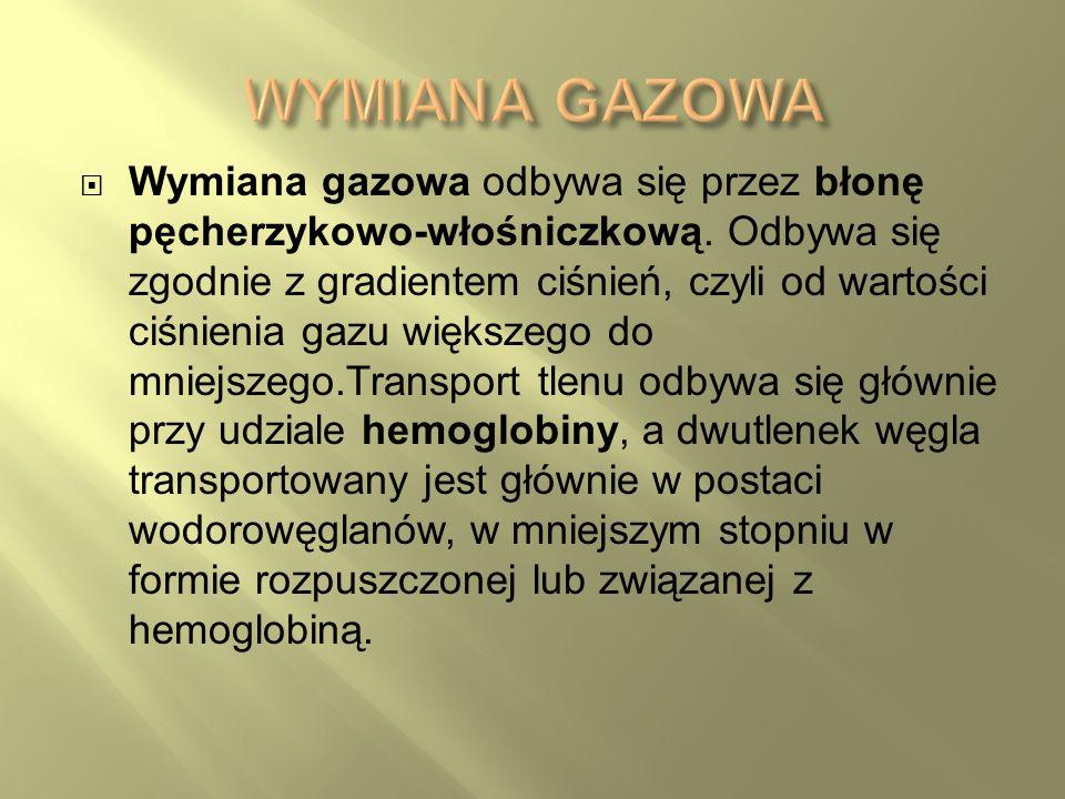 WYMIANA GAZOWA