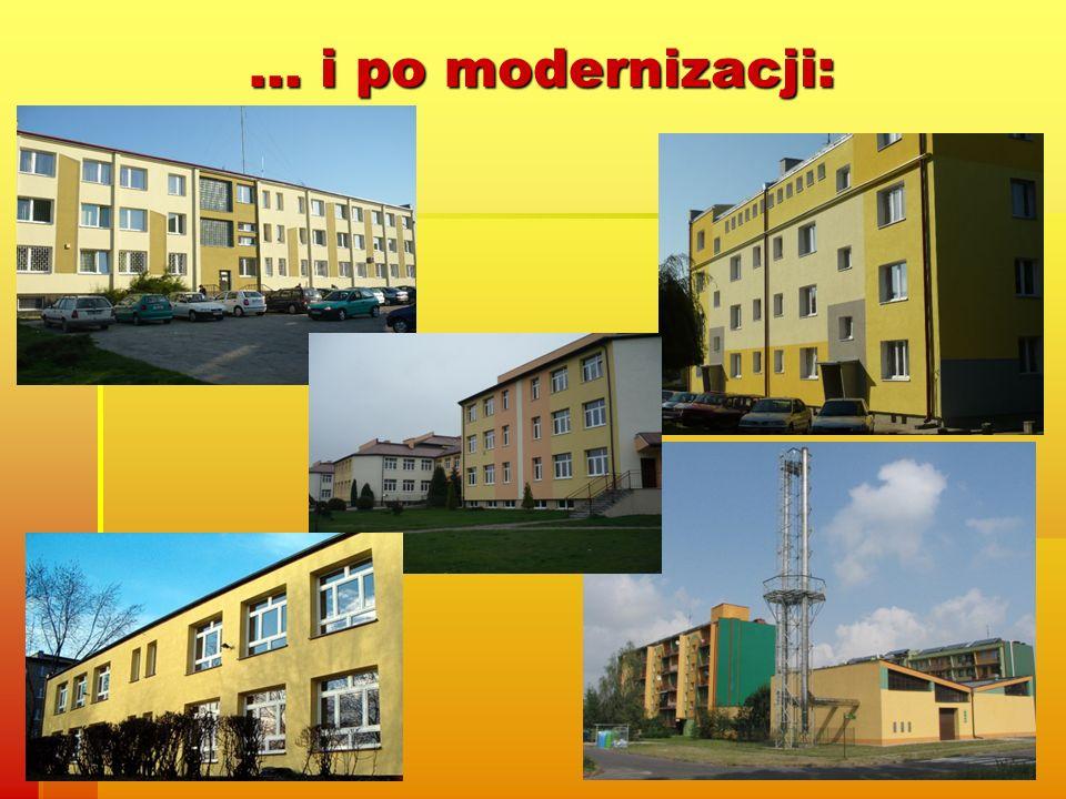 … i po modernizacji: