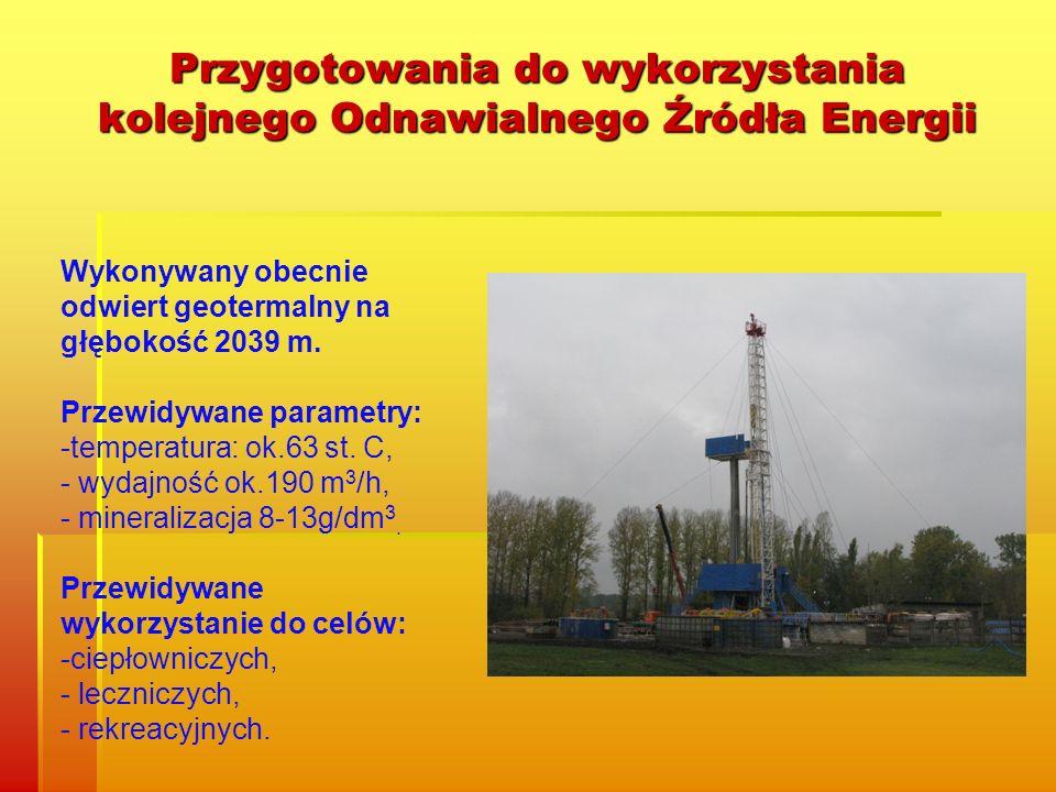 Przygotowania do wykorzystania kolejnego Odnawialnego Źródła Energii