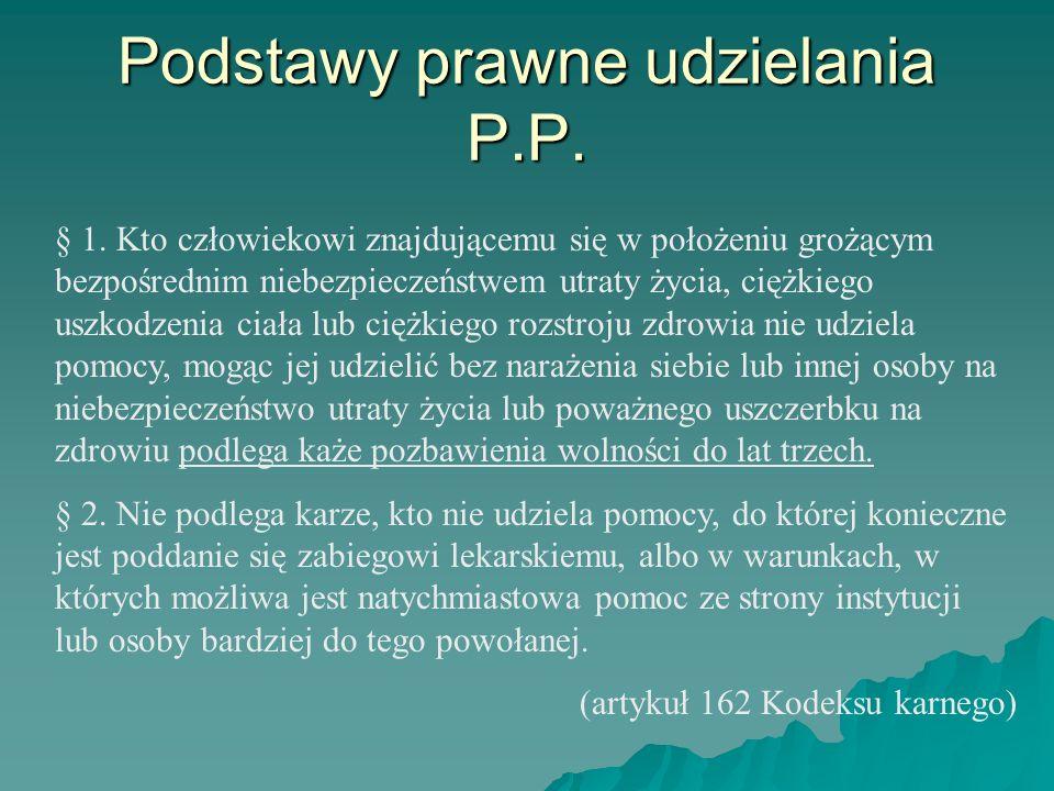 Podstawy prawne udzielania P.P.